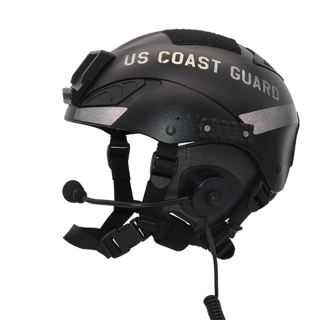 Website Military US Coast Guard NEW Black Reflective