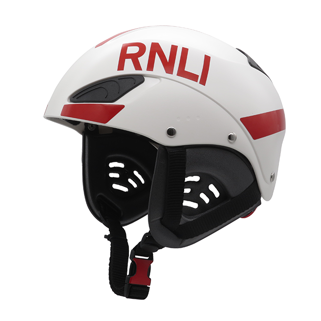 Website SAR - RNLI white with red reflective